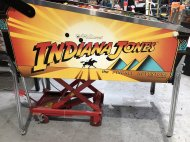 Inserat Williams Indiana Jones Flipper Pinball