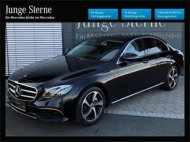 Inserat Mercedes E-Klasse; BJ: 7/2012, 136PS