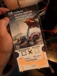 Inserat Moto GP Ticket