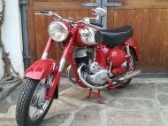 Inserat Puch SGS, BJ:1954, 15PS, 250ccm