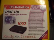 Inserat U.S. Robotics 56K V.92 Message Modem