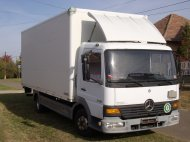 Inserat Mercedes Benz ATEGO 7.4 To Alu Koffer